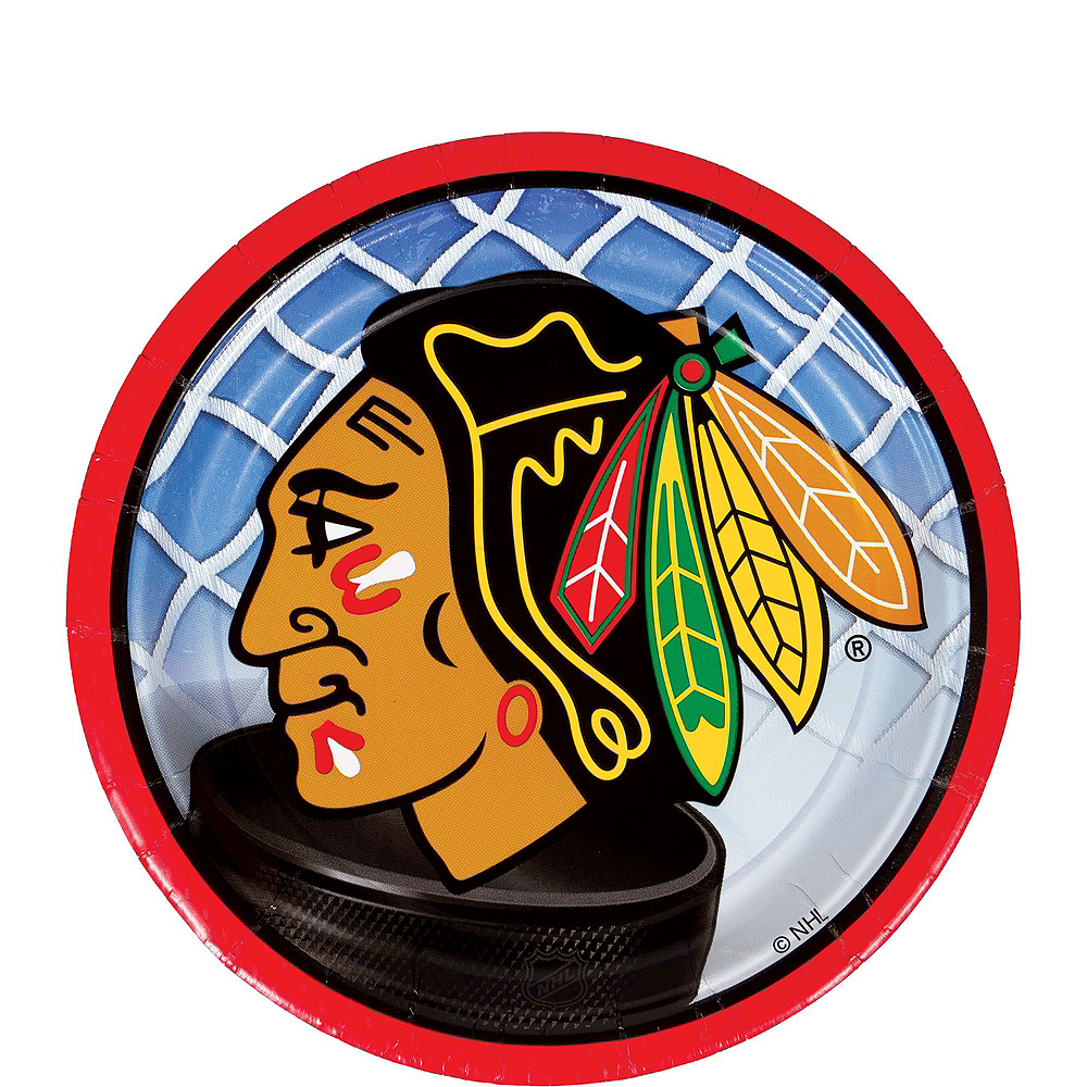 Chicago Blackhawks Party Kit for 16 Guests Image #2