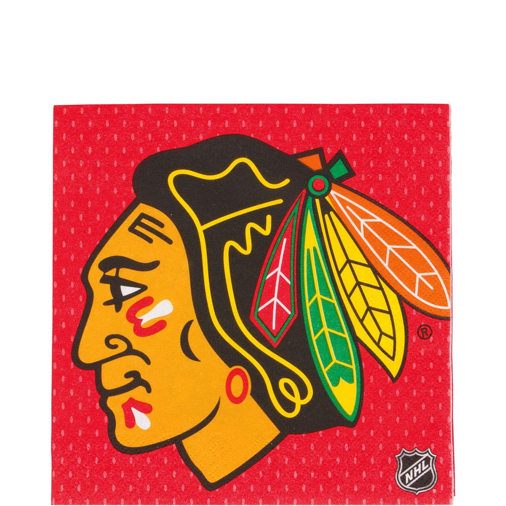 Nav Item for Super Chicago Blackhawks Party Kit for 16 Guests Image #5
