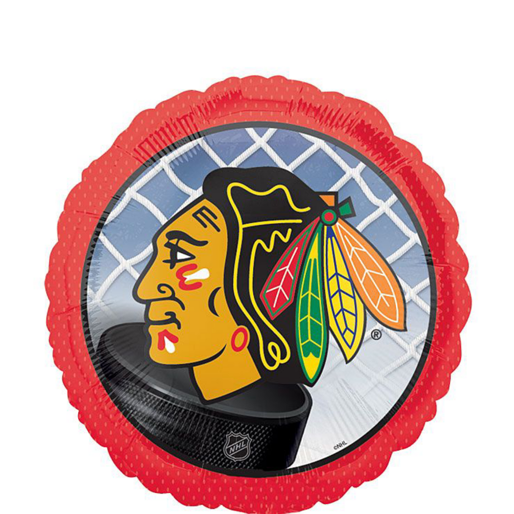 Chicago Blackhawks Balloon Kit Image #3