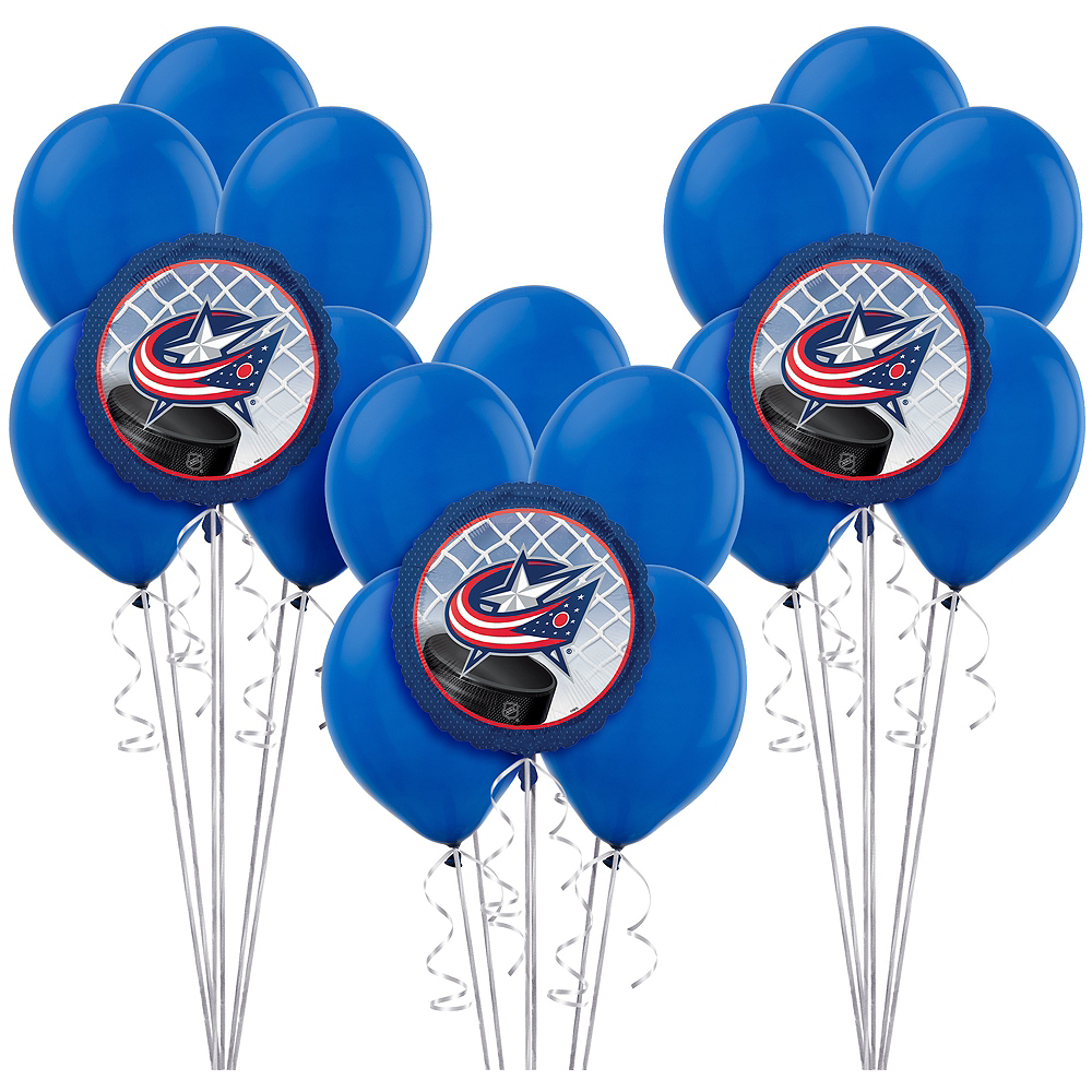 Columbus Blue Jackets Balloon Kit Image #1