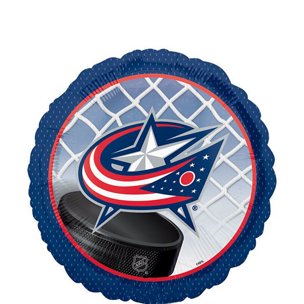 Columbus Blue Jackets Balloon Kit Image #3