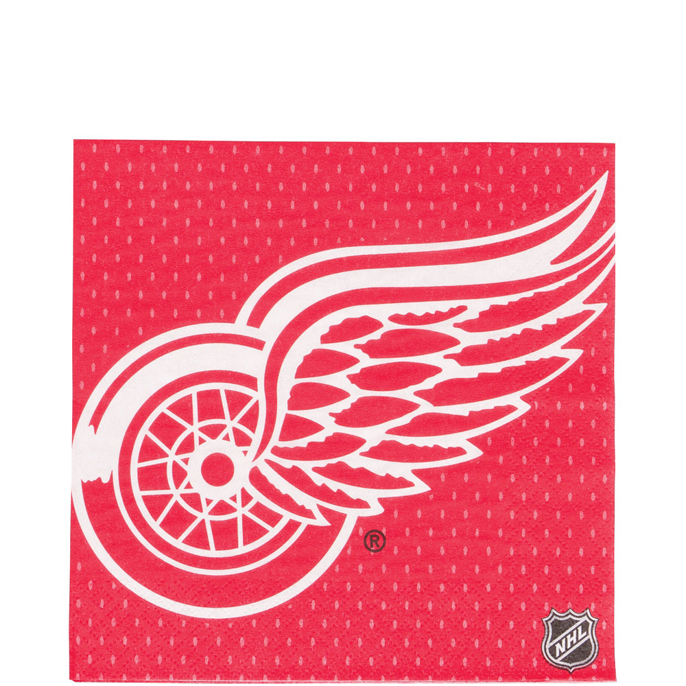 Super Detroit Red Wings Party Kit for 16 Guests Image #5