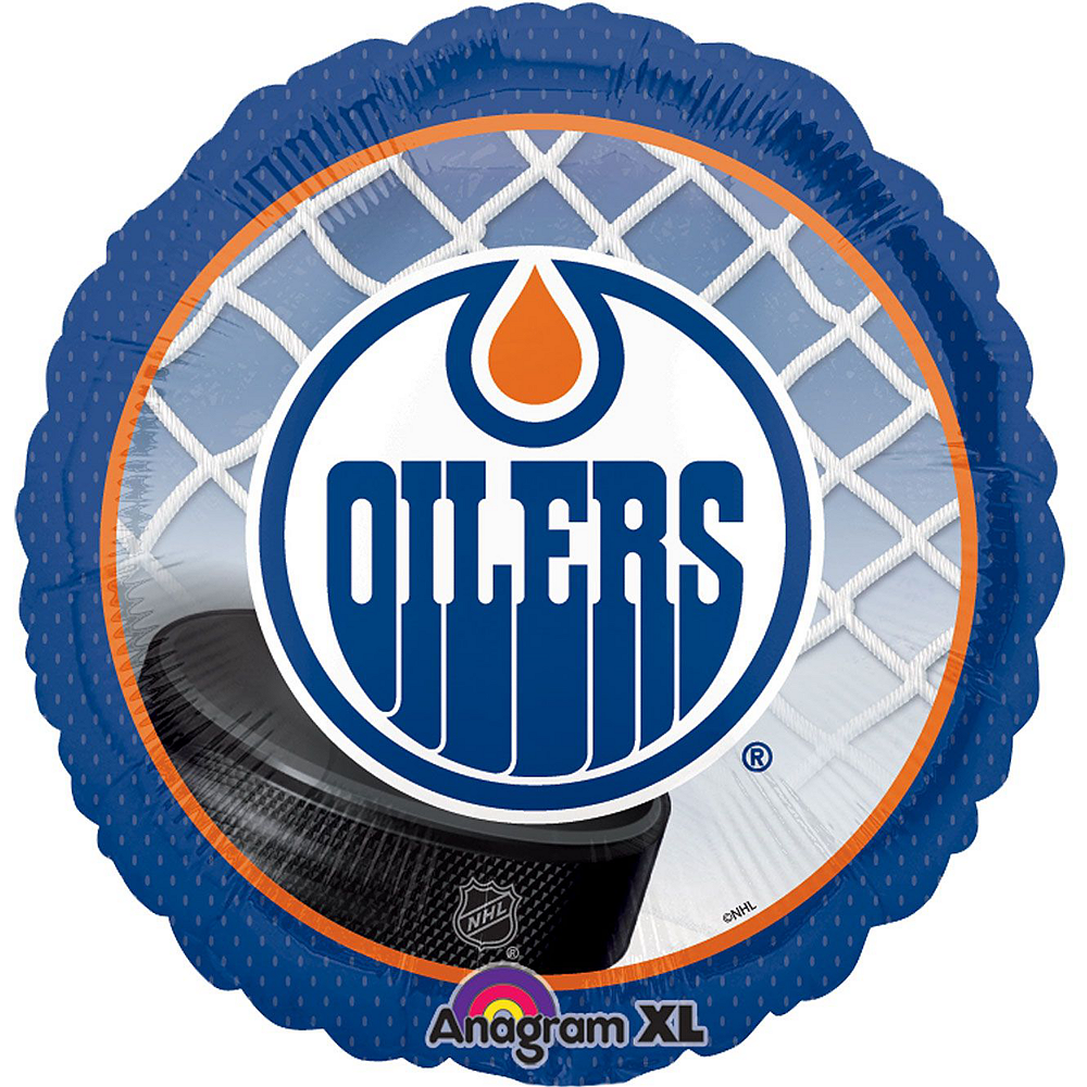 Edmonton Oilers Balloon Kit Image #3