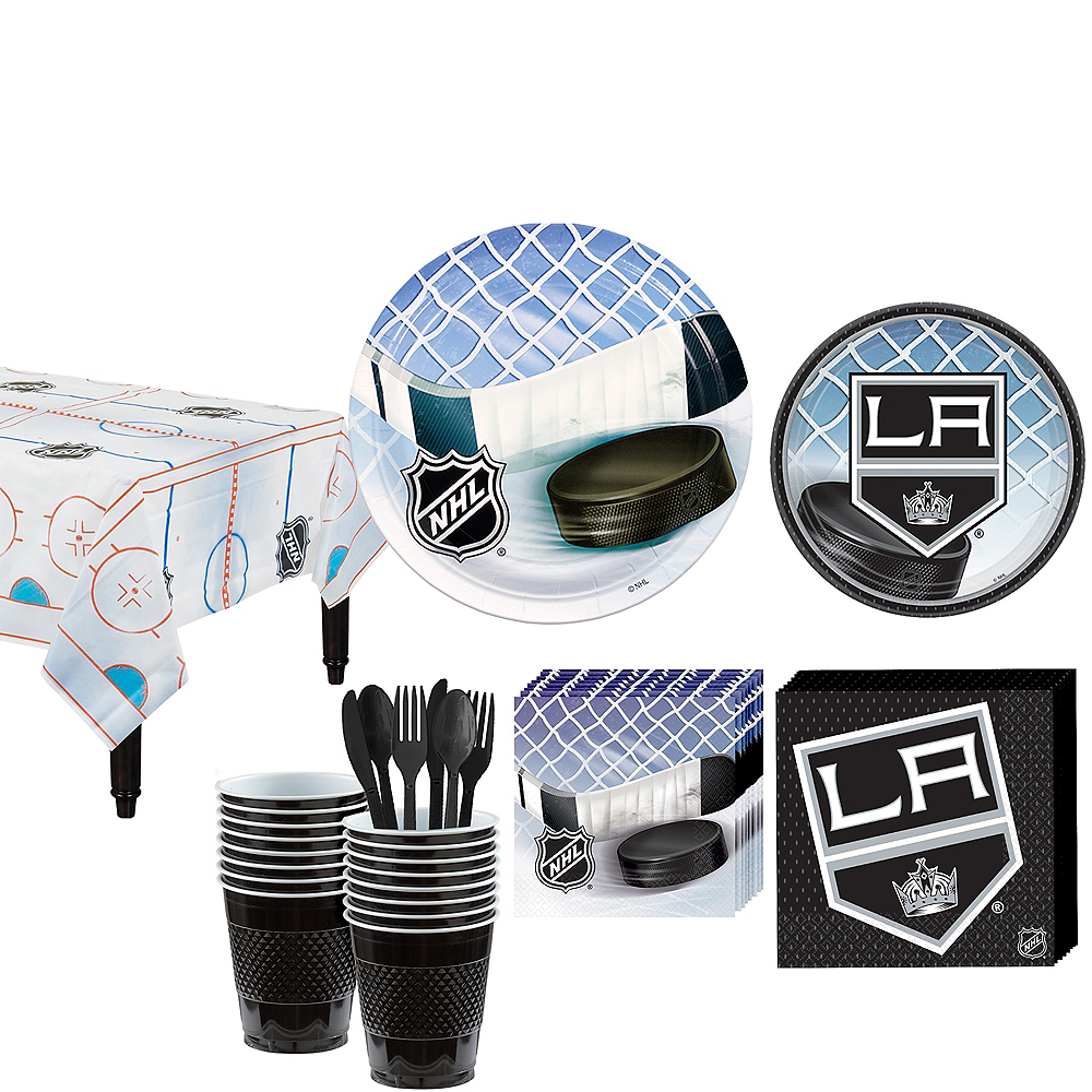 Los Angeles Kings Party Kit for 16 Guests Image #1