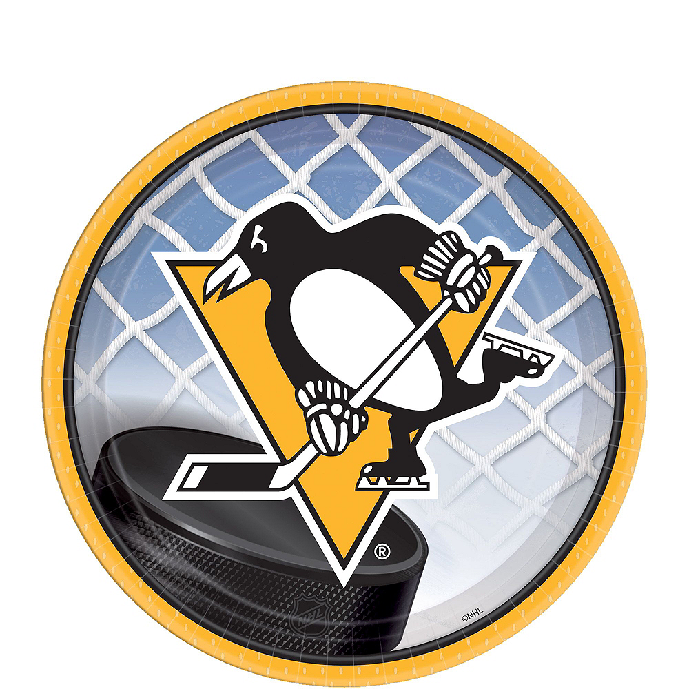 Super Pittsburgh Penguins Party Kit for 16 Guests Image #2