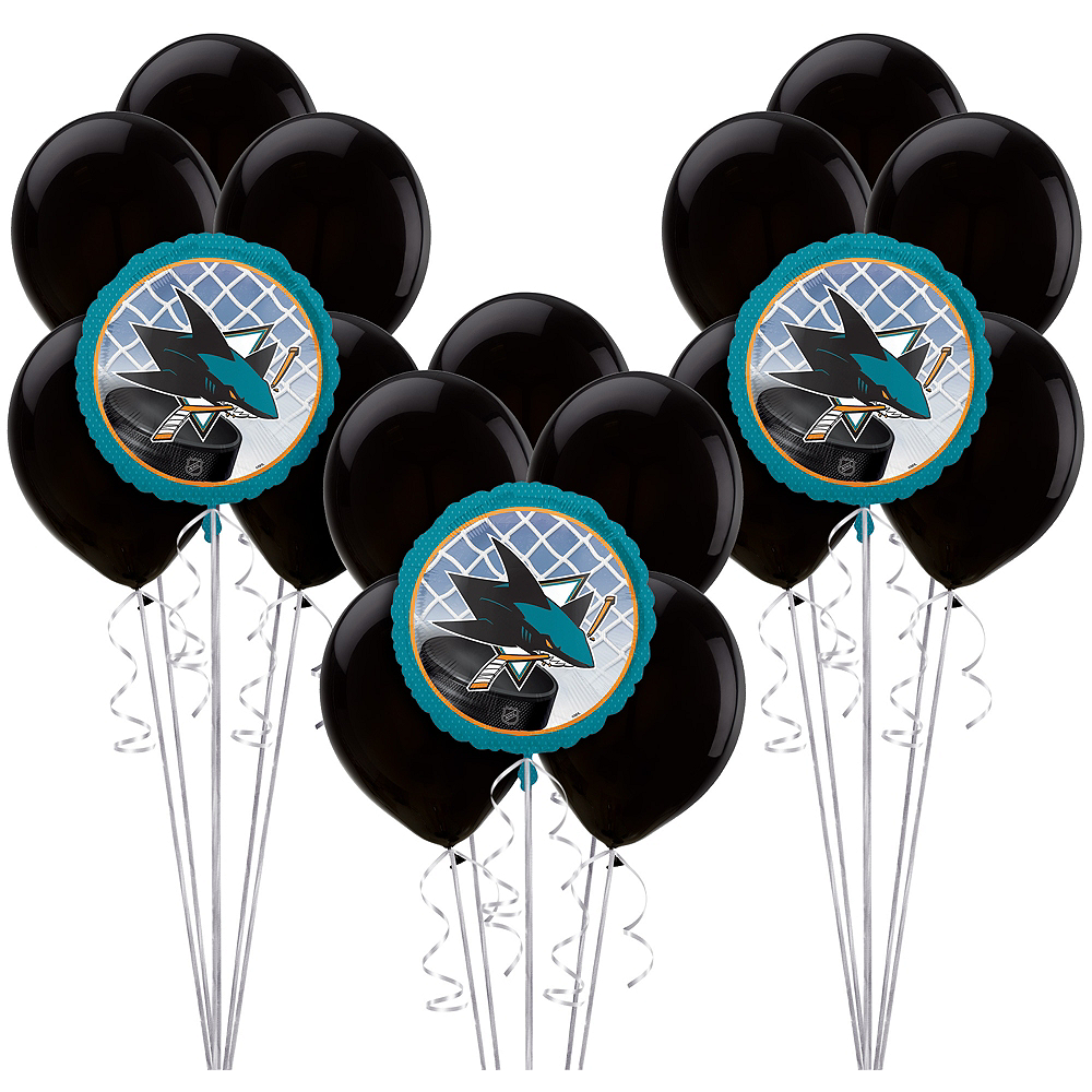 San Jose Sharks Balloon Kit Image #1