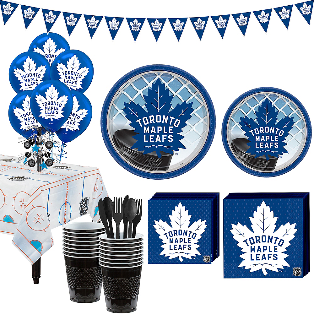 Super Toronto Maple Leafs Party Kit for 16 Guests Image #1