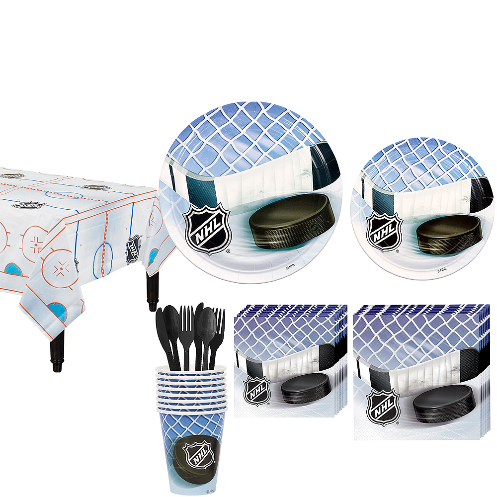 NHL Hockey Party Kit for 8 Guests Image #1