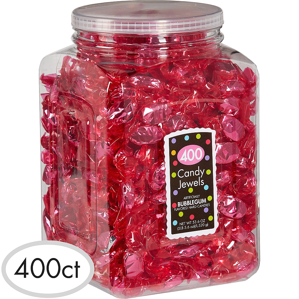 Bright Pink Candy Jewels 400ct Image #1