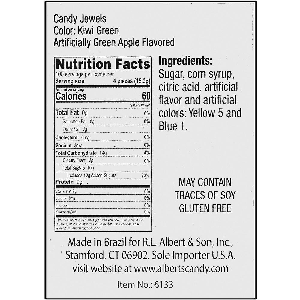 Kiwi Green Candy Jewels 400ct Image #3