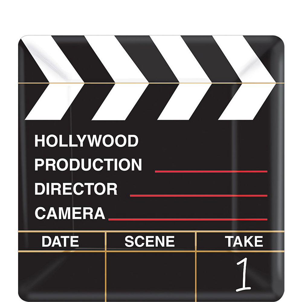 Clapboard Hollywood Tableware Kit for 16 Guests Image #2