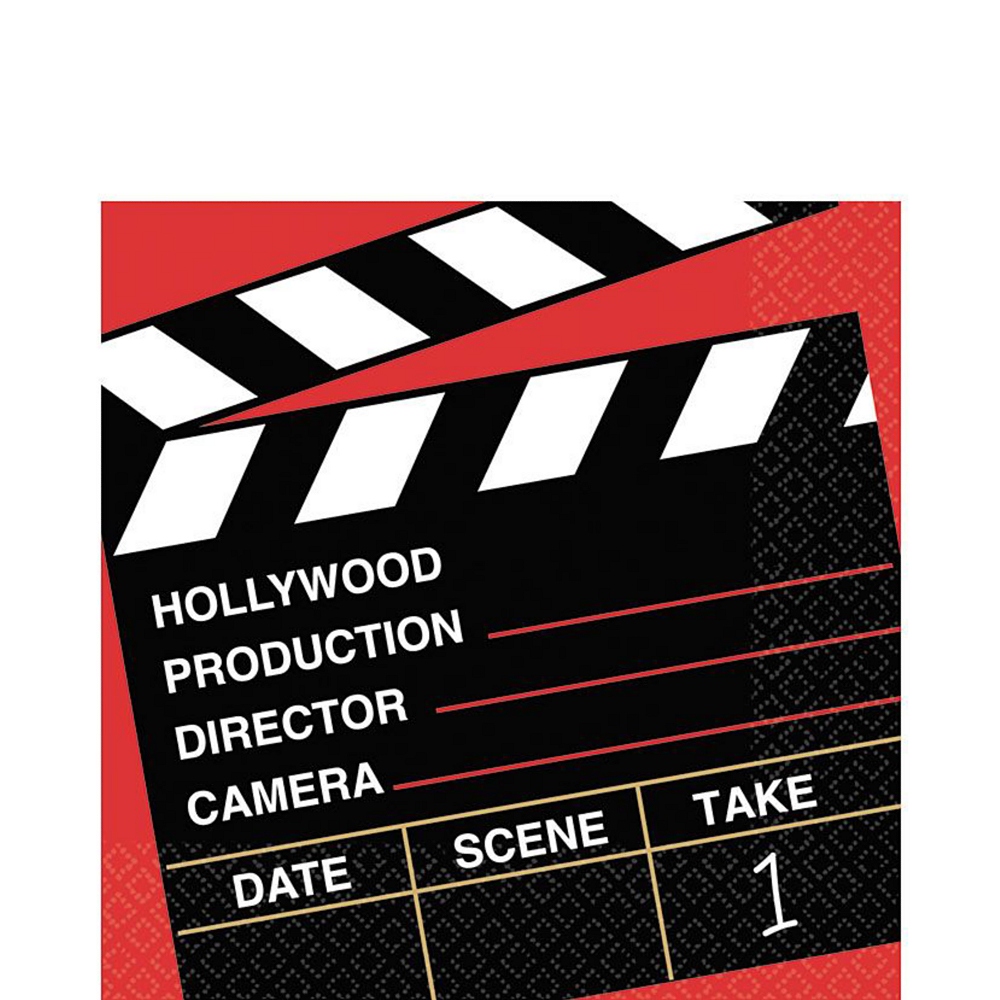 Clapboard Hollywood Tableware Kit for 32 Guests Image #5