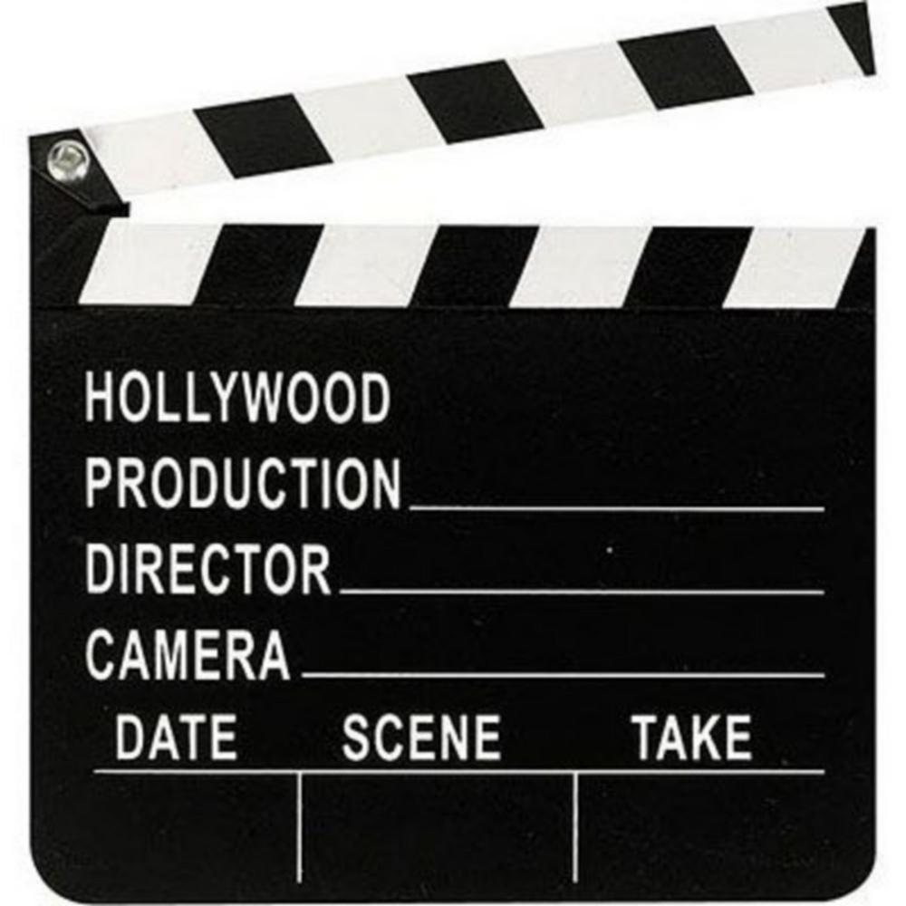 Clapboard Hollywood Basic Decorating Kit Image #2