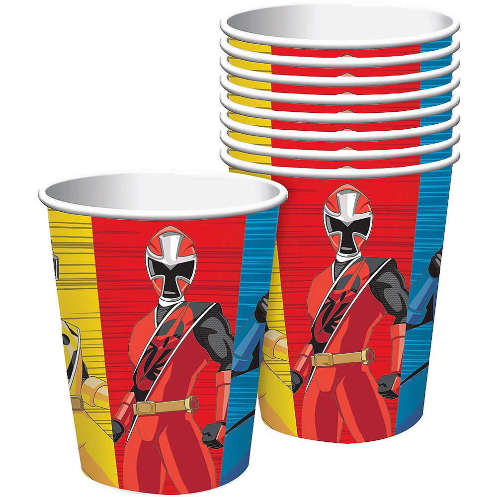 Power Rangers Ninja Steel Cups 8ct Image #1