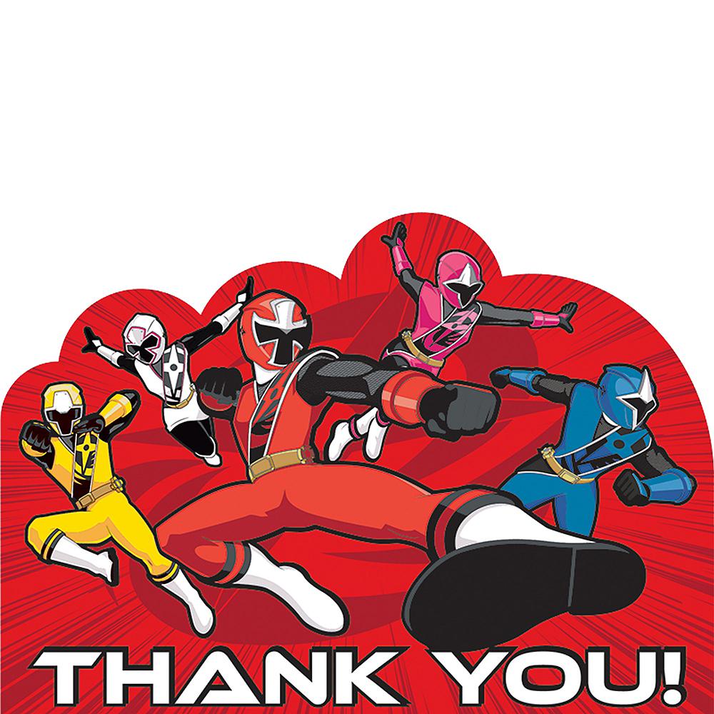 Power Rangers Ninja Steel Thank You Notes 8ct Image #1