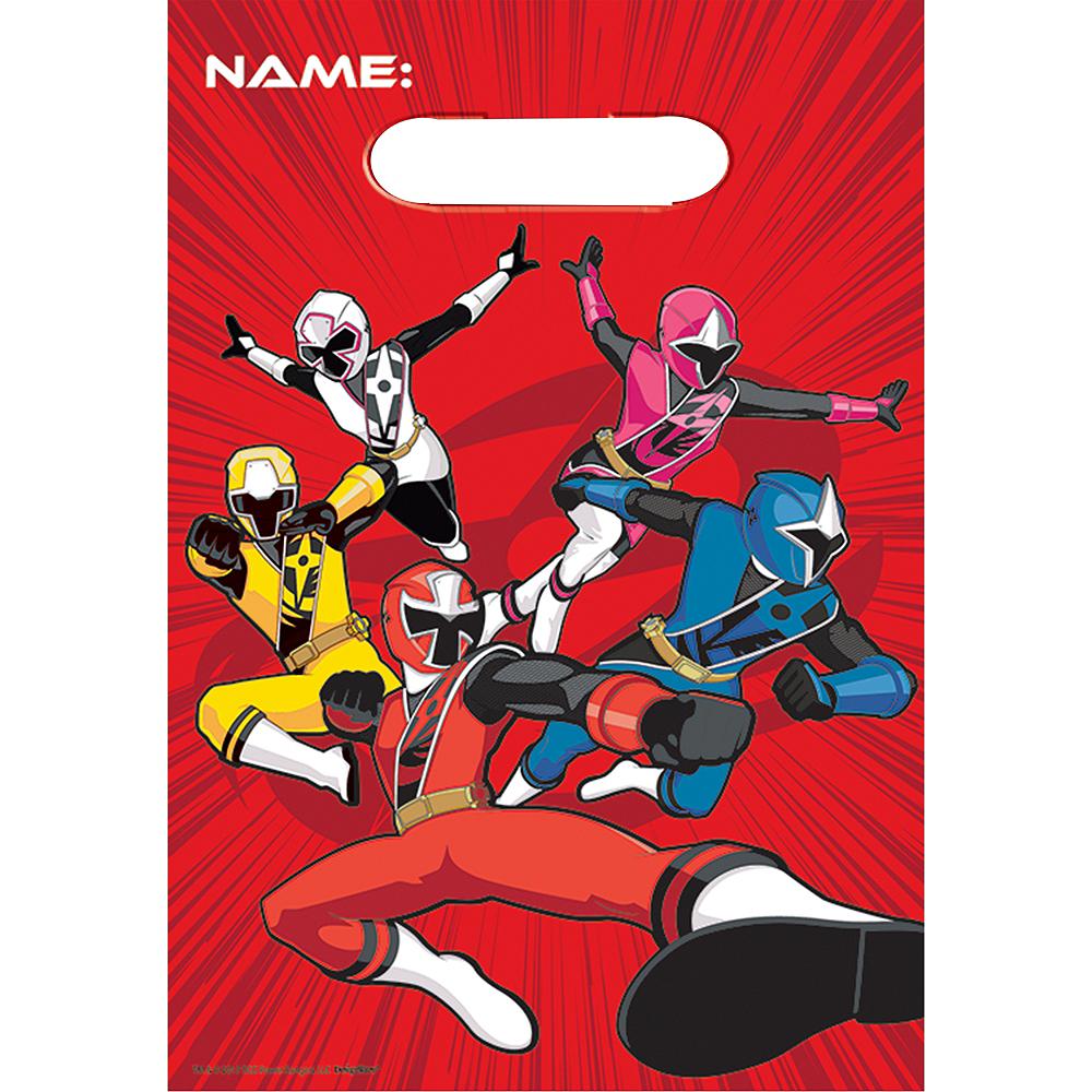 Power Rangers Ninja Steel Favor Bags 8ct Image #1