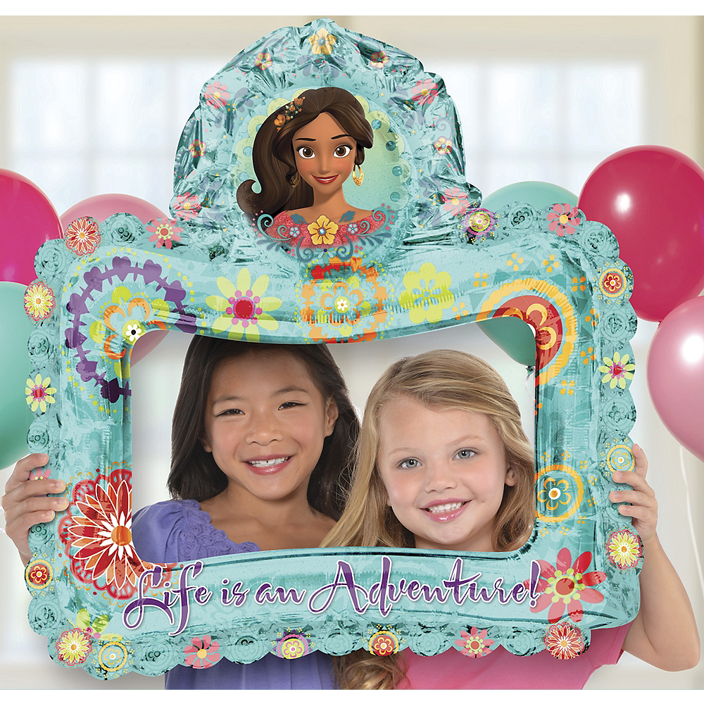 Inflatable Elena of Avalor Balloon Frame Image #1