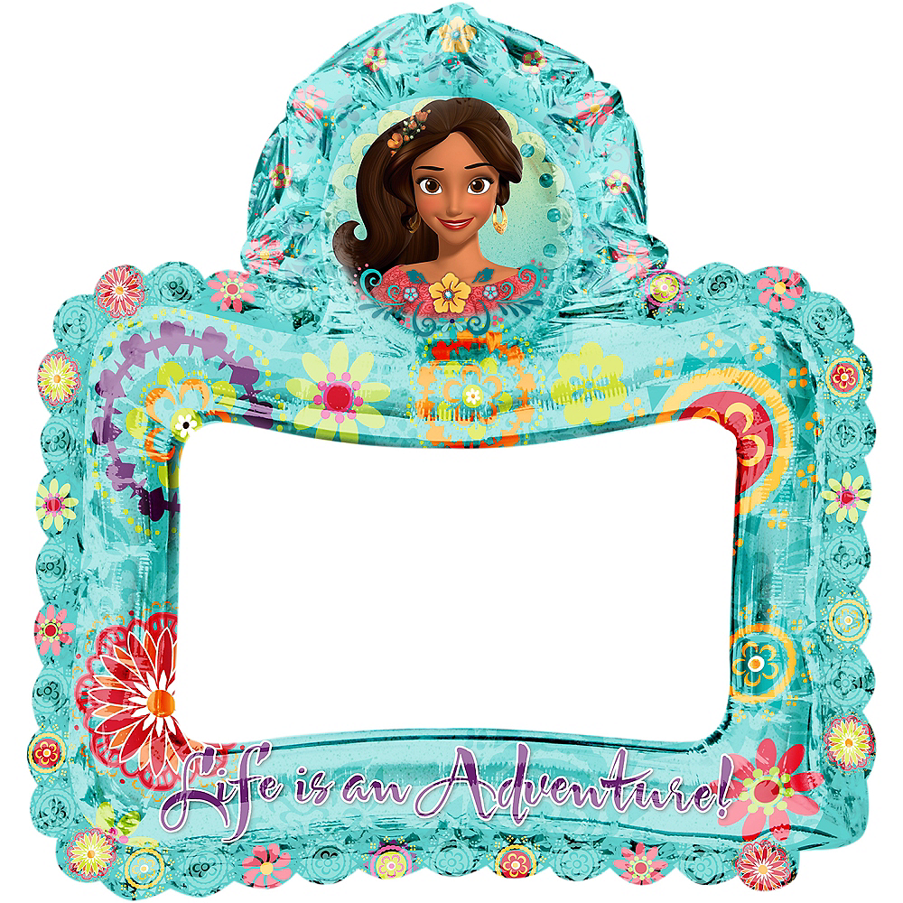 Inflatable Elena of Avalor Balloon Frame Image #2