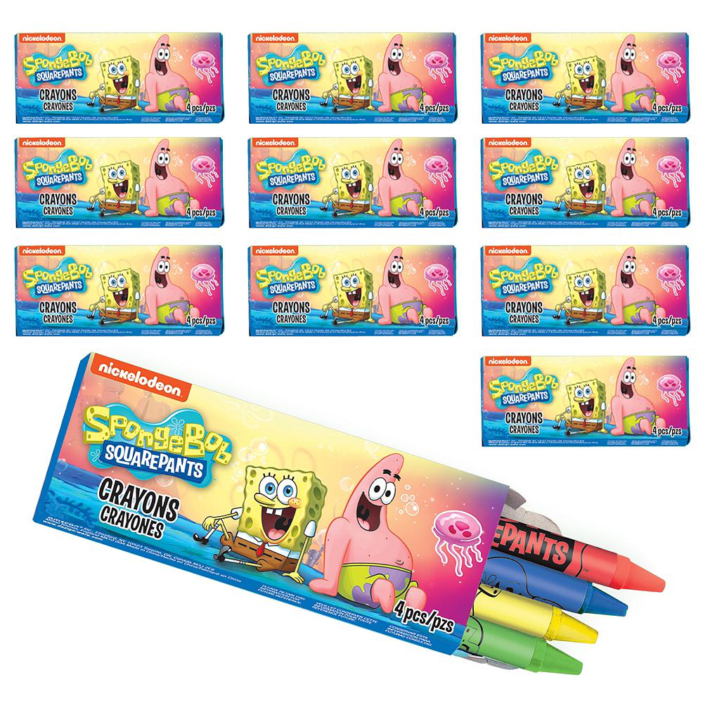 SpongeBob Crayon Boxes 48ct Image #1