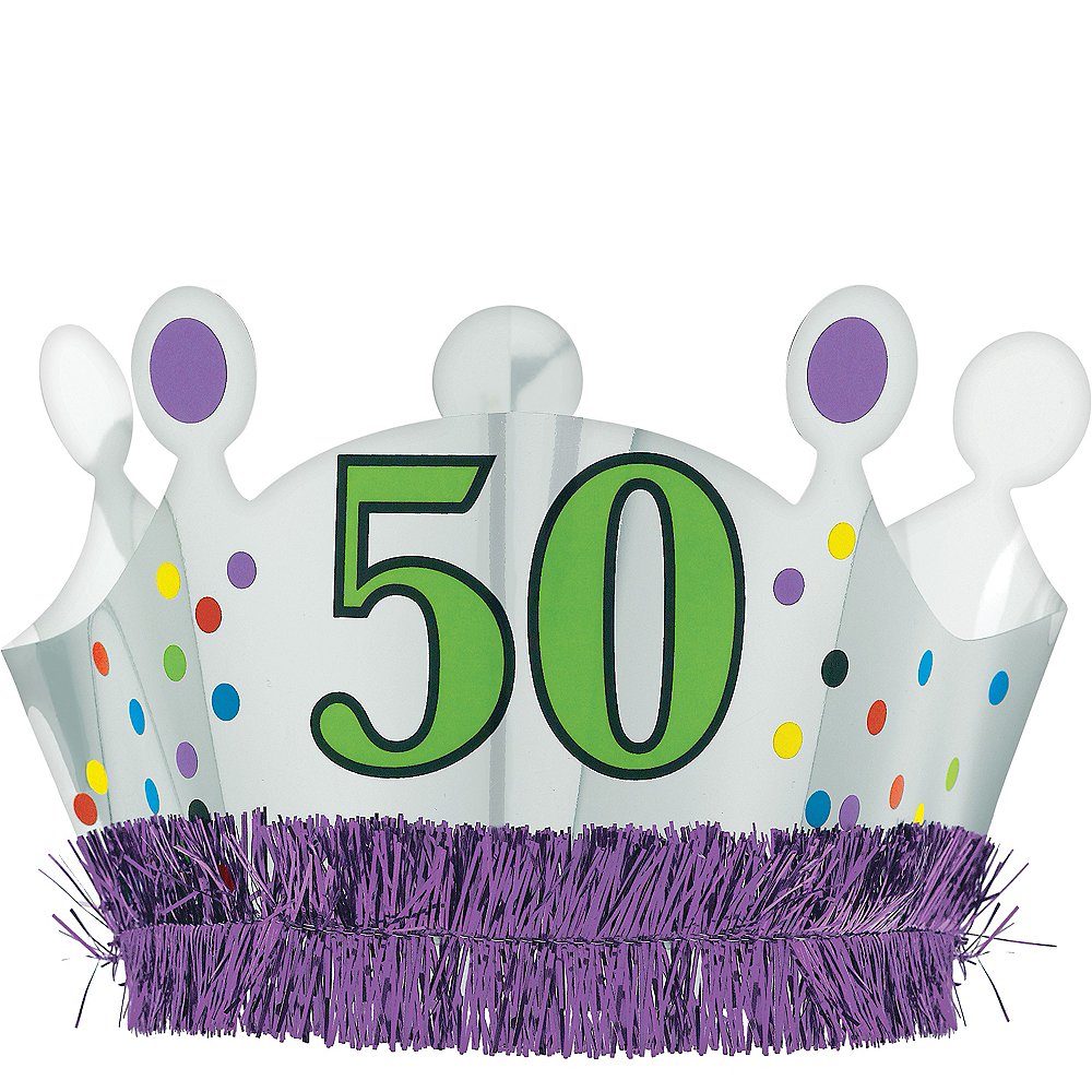 50th Birthday Crown Image #1