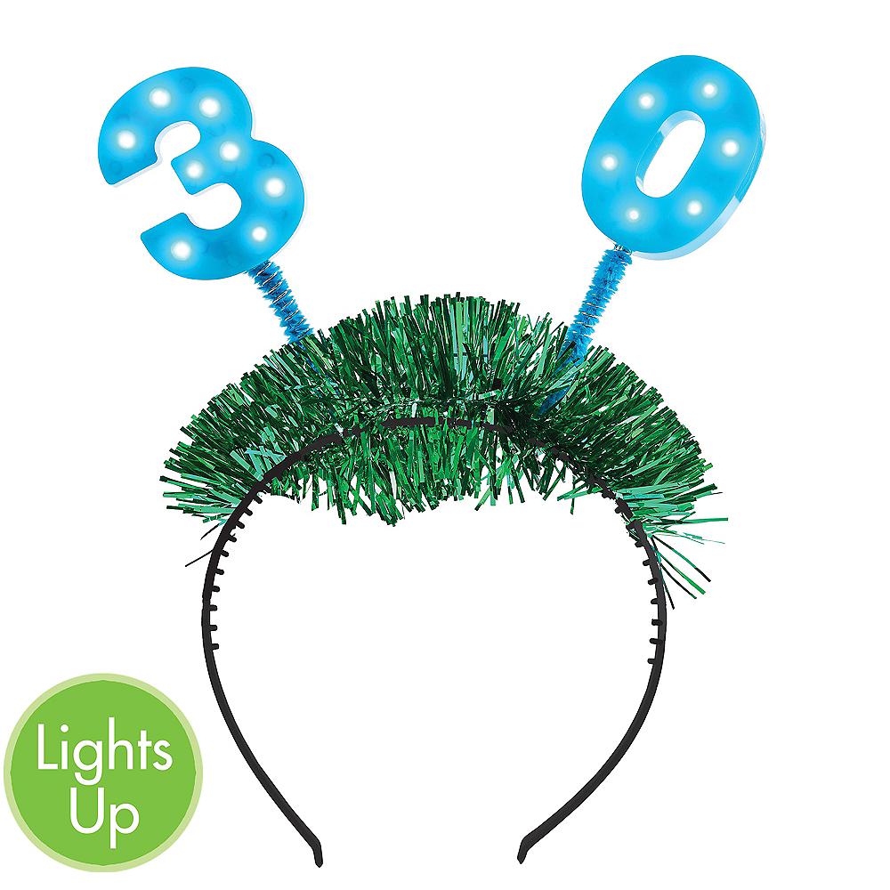 Light-Up 30th Birthday Head Bopper Image #1