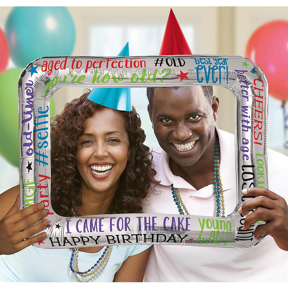 Inflatable Milestone Birthday Frame Image #1