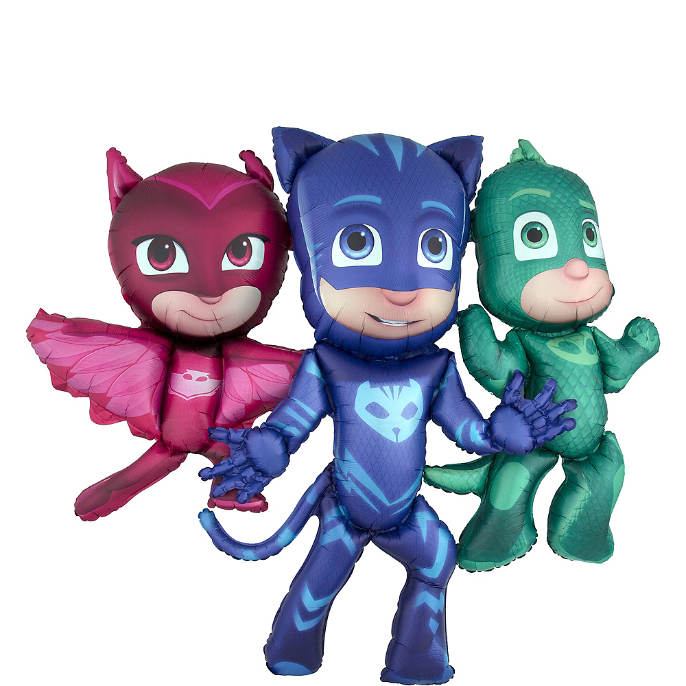 Giant Gliding PJ Masks Balloon Image #1