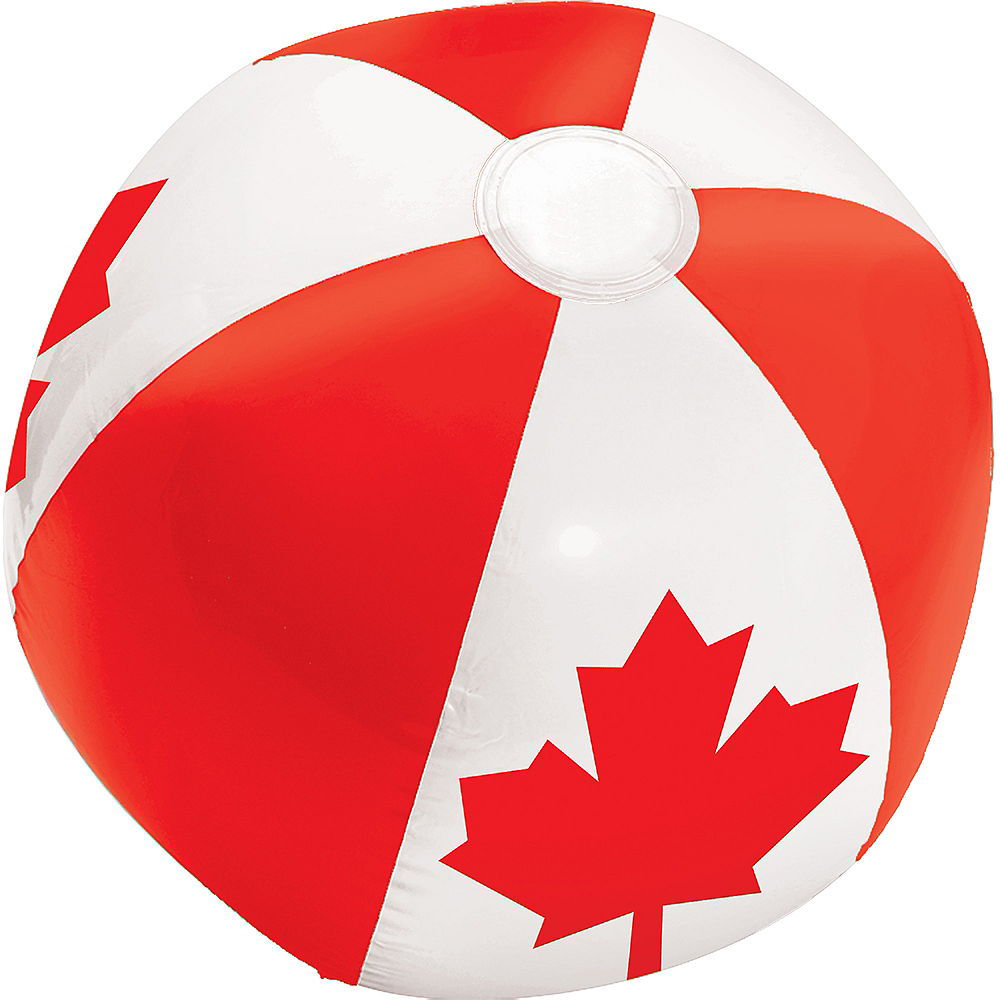 Canadian Flag Beach Ball Image #1