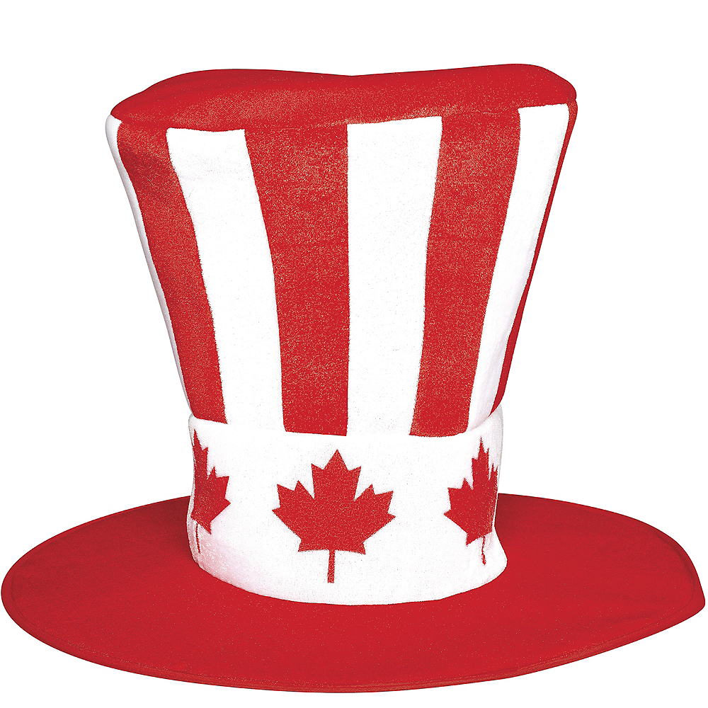 Giant Canadian Maple Leaf Top Hat Image #1