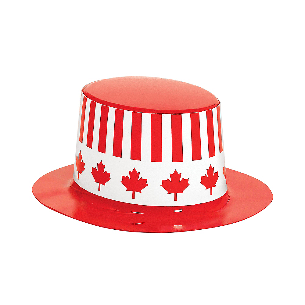 Mini Canadian Maple Leaf Top Hat Image #2