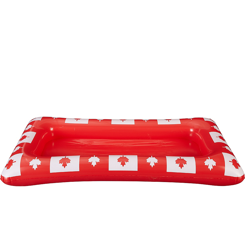 Inflatable Canadian Maple Leaf Buffet Cooler Image #3