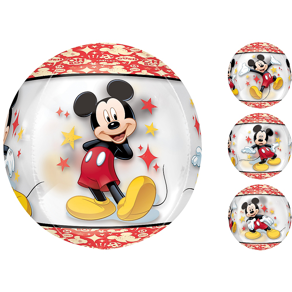 Mickey Mouse Balloon - See Thru Orbz, 16in Image #1