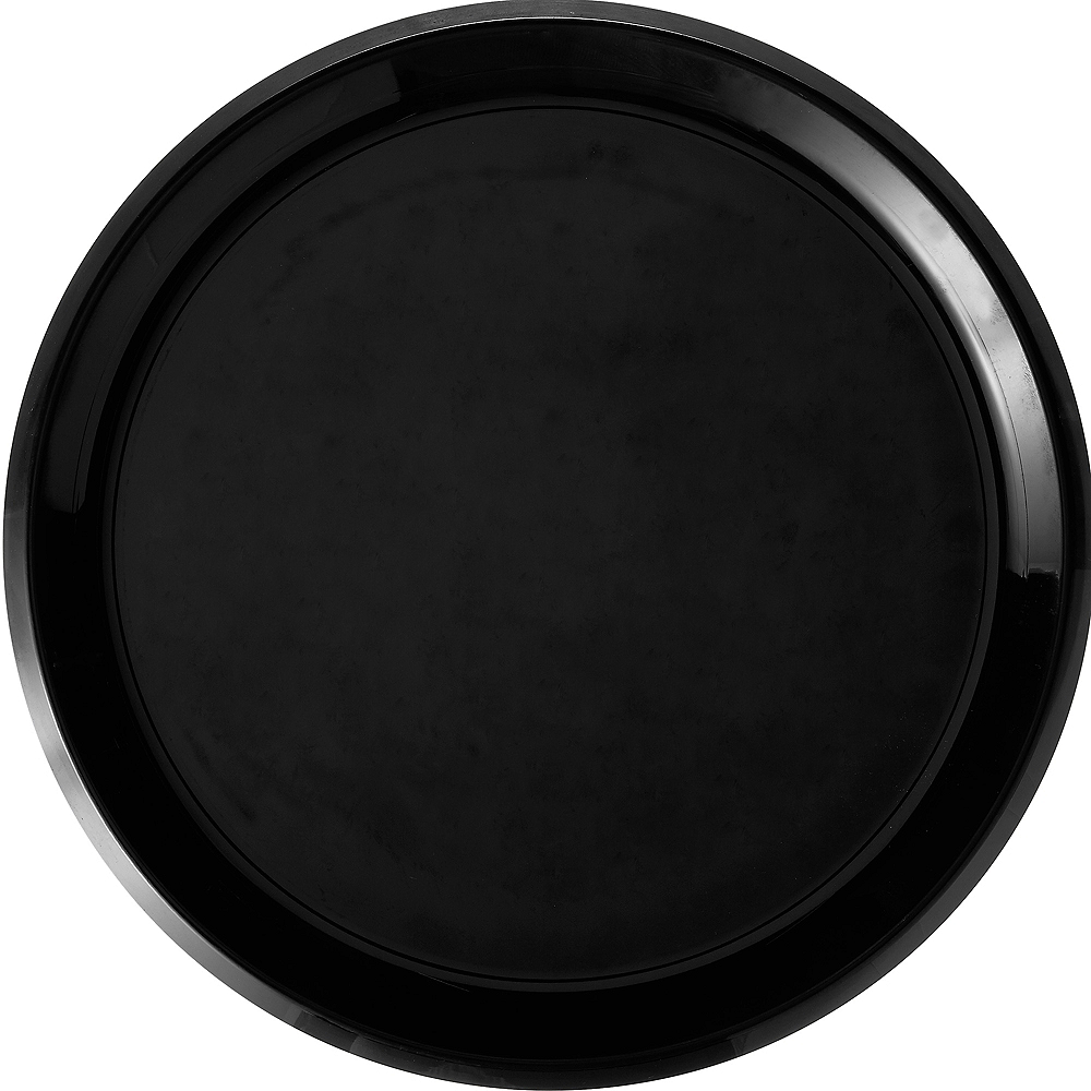 Nav Item for Black Plastic Round Platter Image #1
