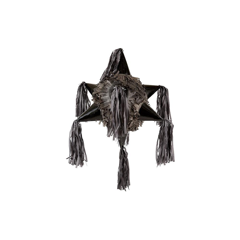 Black 8-Point Star Pinata Image #1
