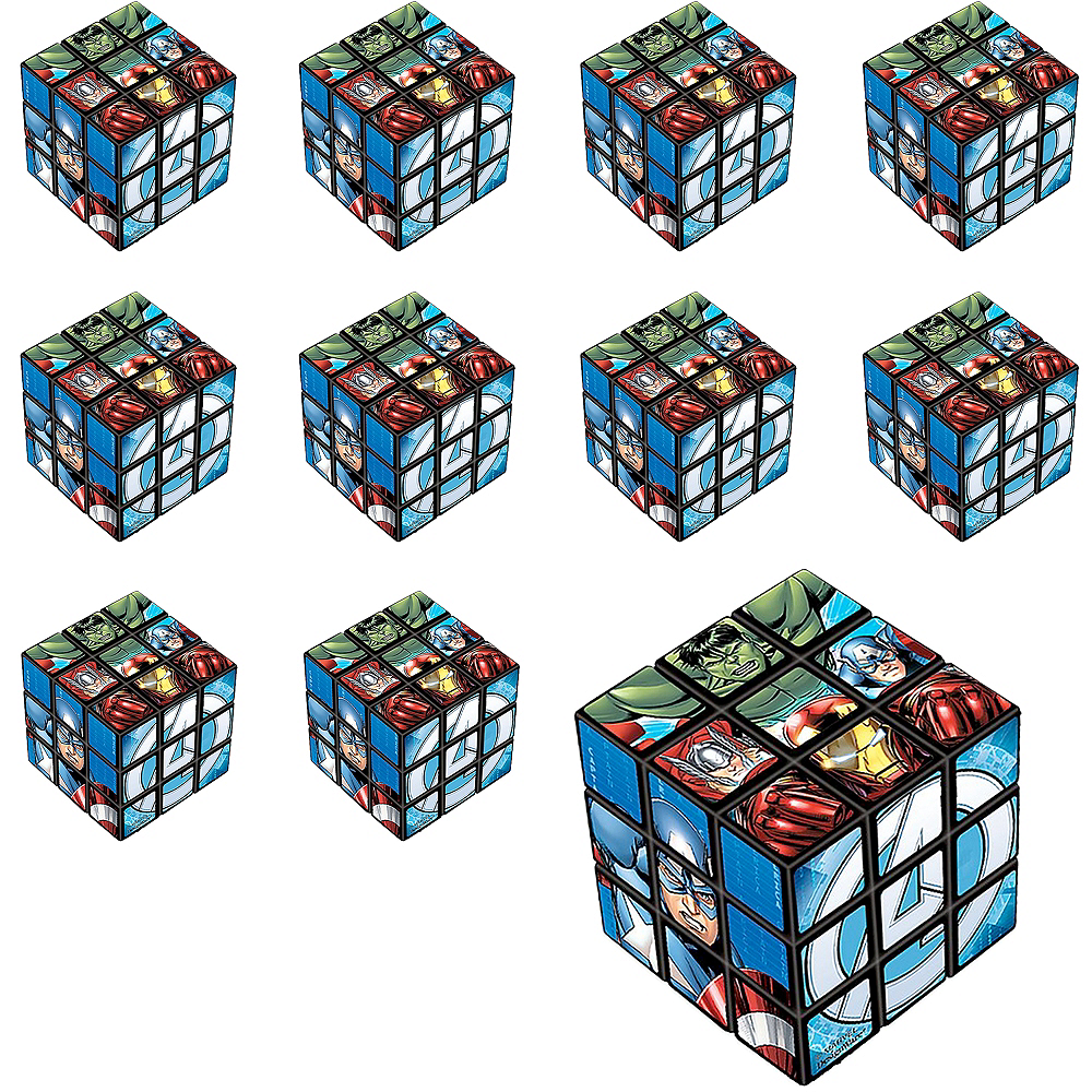 Nav Item for Avengers Puzzle Cubes 24ct Image #1