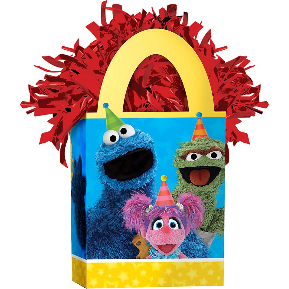 Sesame Street Balloon Weight Image #1