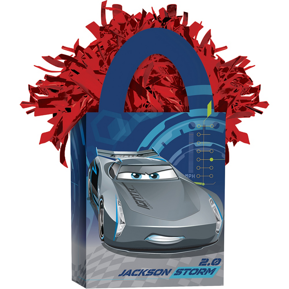 Cars 3 Balloon Weight Image #1