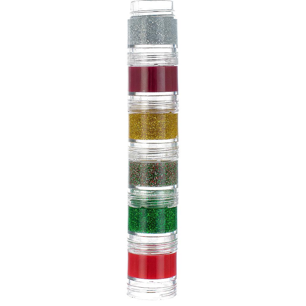 Glitter Red Candy Cane Lip Gloss Set 13ct Image #3