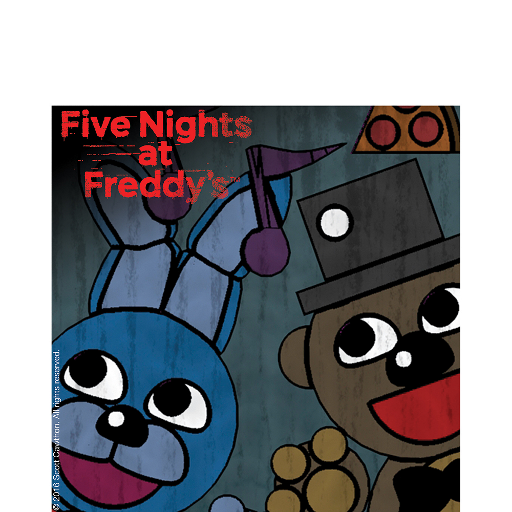 Five Nights at Freddy's Lunch Napkins 16ct Image #1