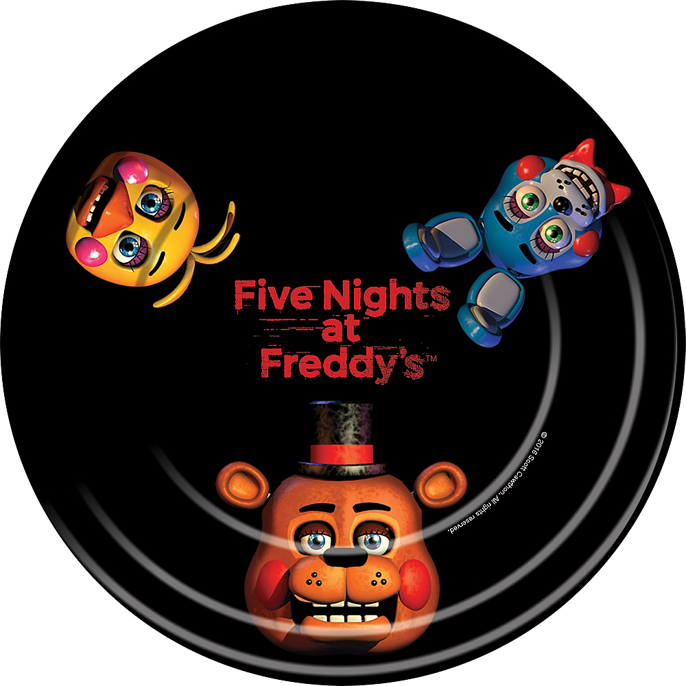 Five Nights at Freddy's Lunch Plates 8ct Image #1