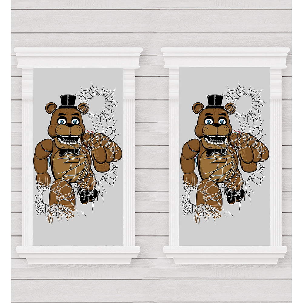 Five Nights at Freddy's Window Posters 2ct Image #1
