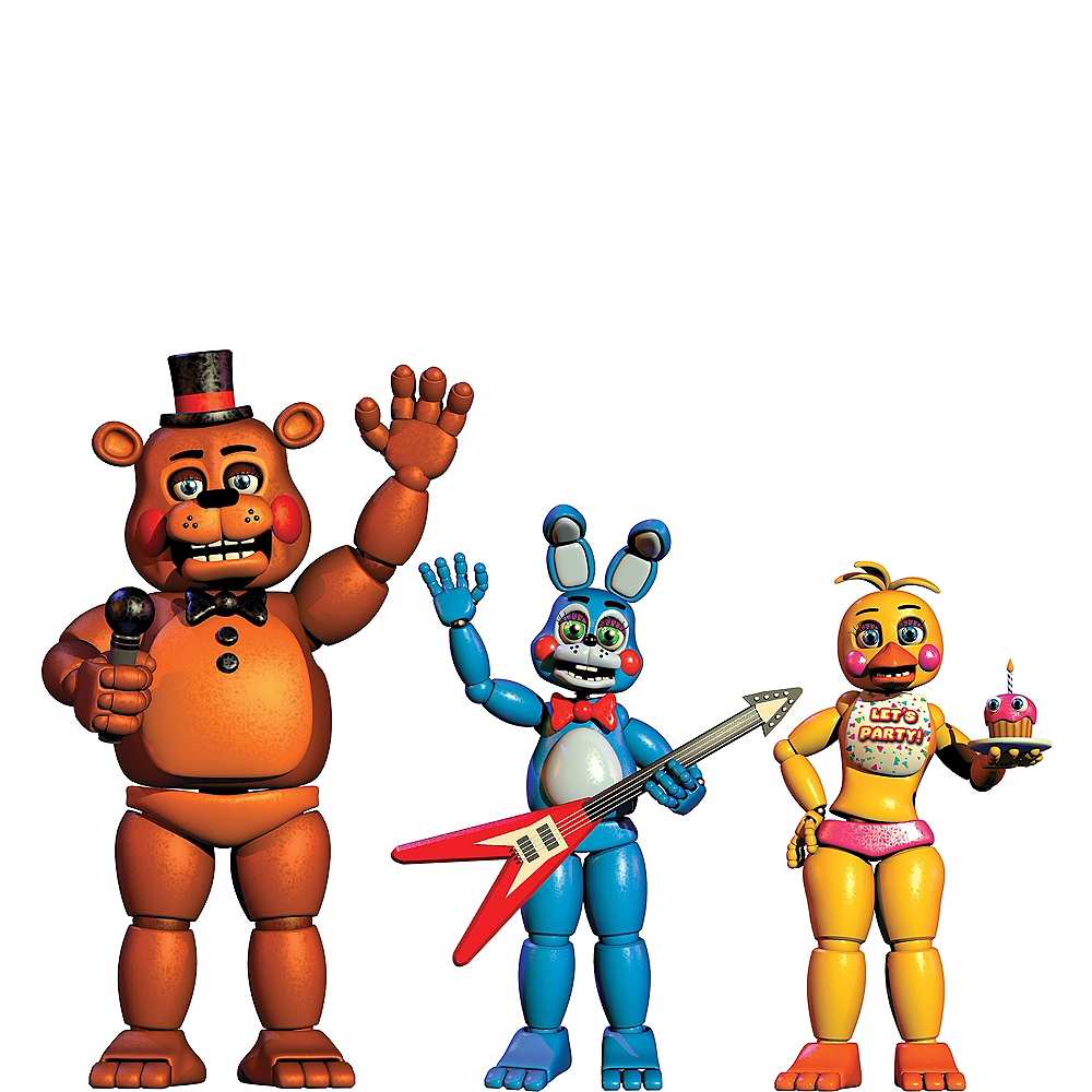 Five Nights At Freddy S Thank You Birthday Cake