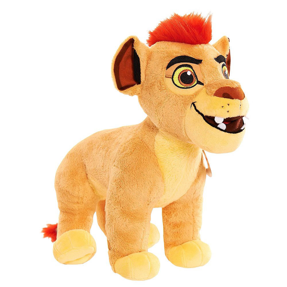 Light Up Talking Kion Plush 9in X 12 1 2in Lion Guard Party City