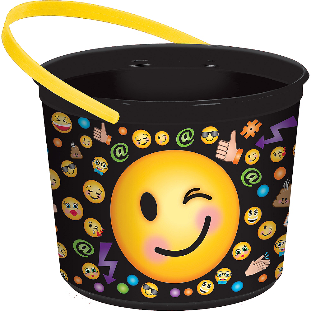 Smiley Favor Container Image #1