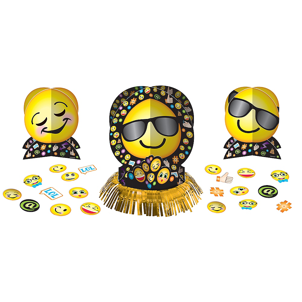 Smiley Table Decorating Kit 23pc Image #1