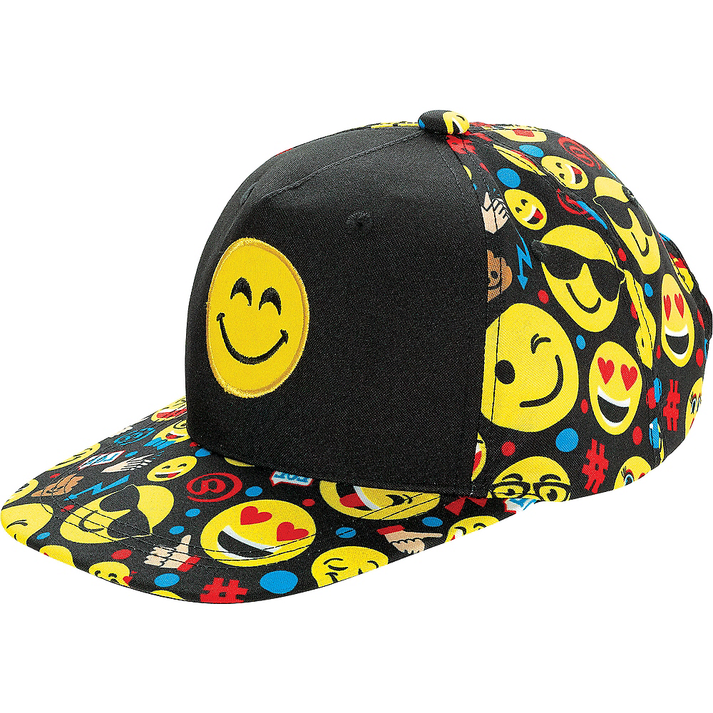 Smiley Baseball Hat Image #1
