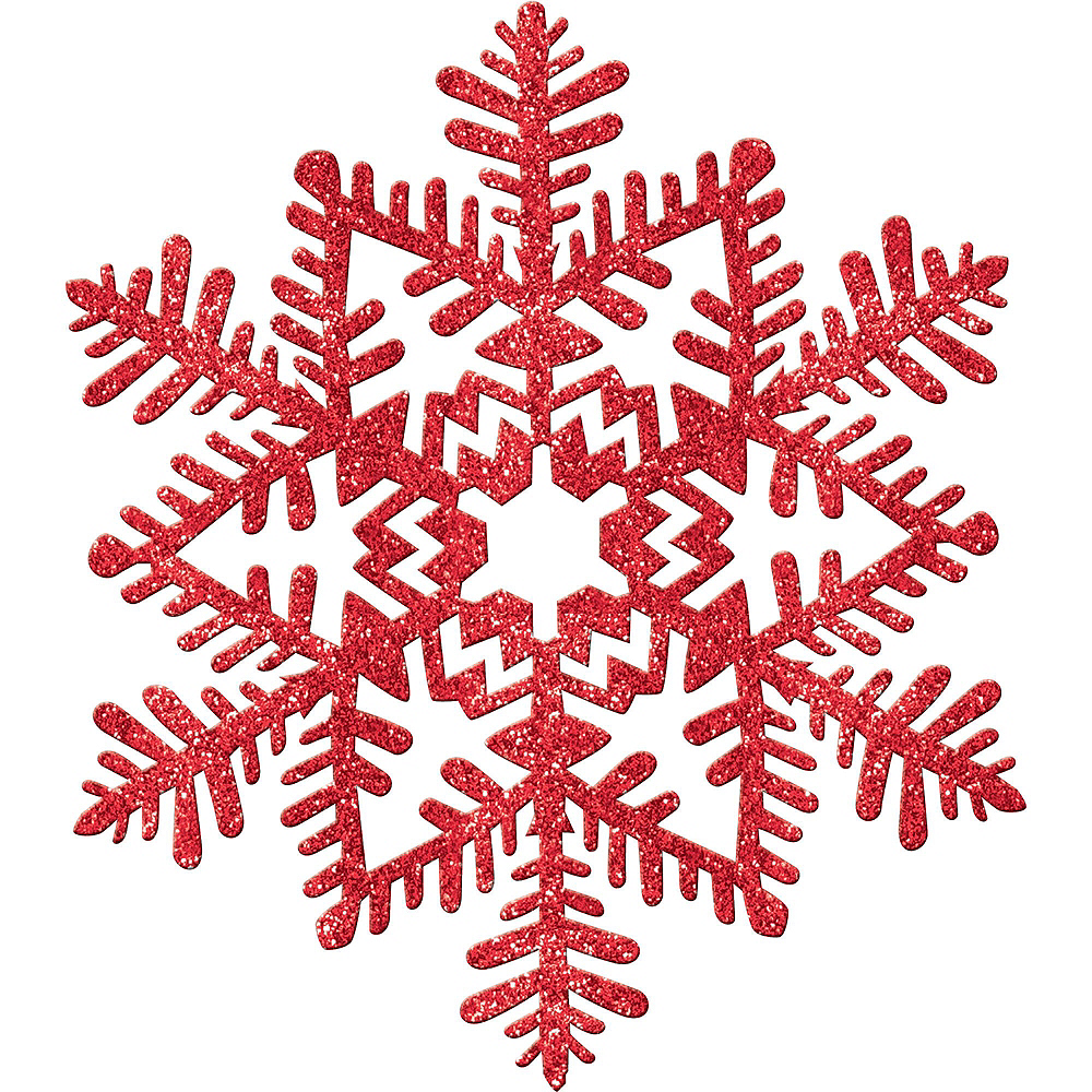 Red Christmas Table & Mirror Decorating Kit Image #3