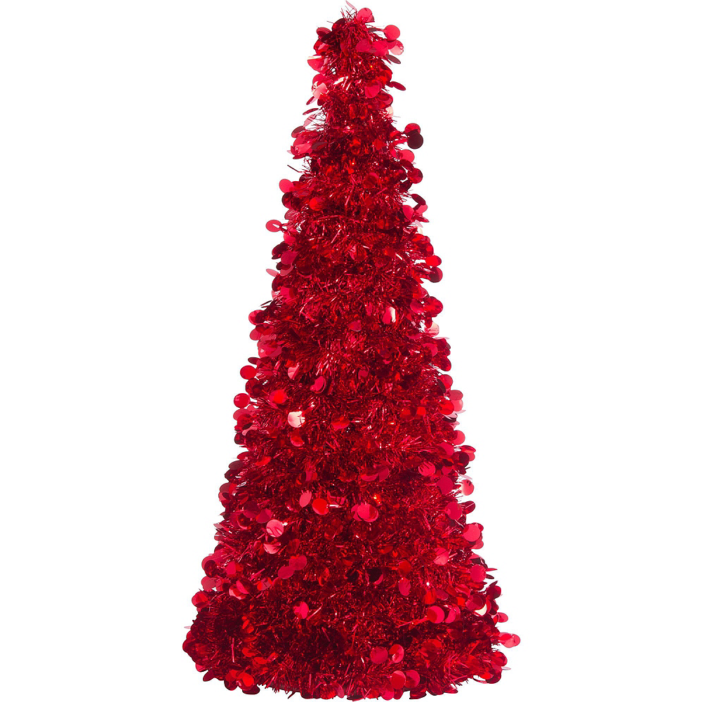 Red Christmas Table & Mirror Decorating Kit Image #5