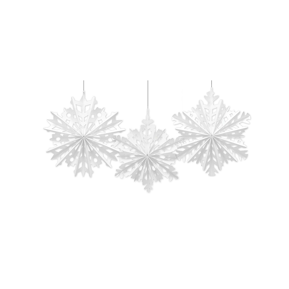 Silver Christmas Stairway Decorating Kit Image #3