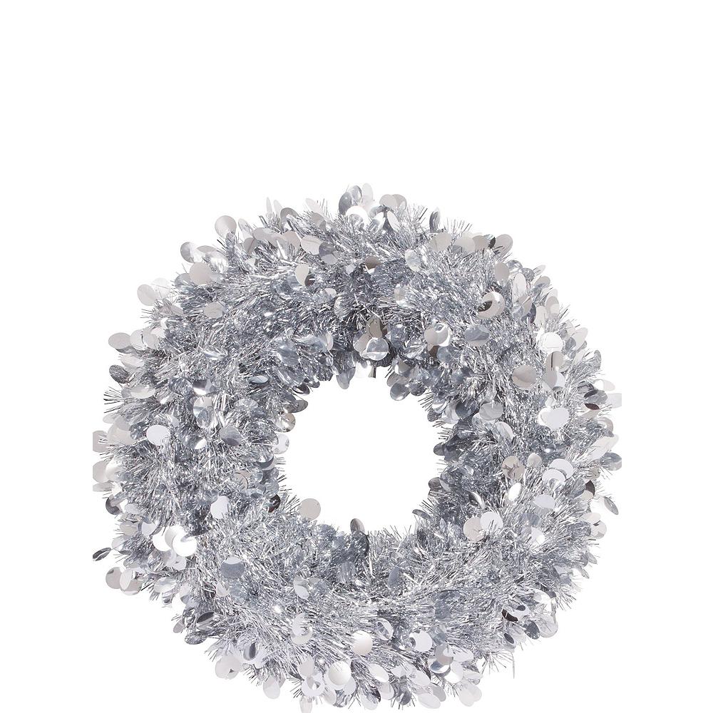 Silver Christmas Window Decorating Kit Image #3